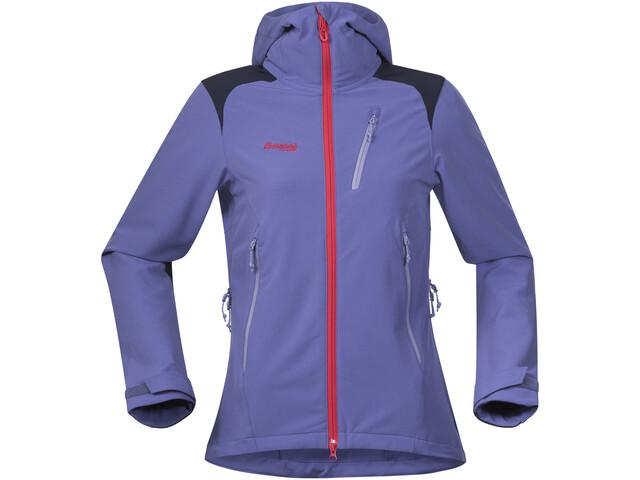 f9c39856 Bergans Cecilie Mountaineering Jacket Women Anemone/Navy/Strawberry/Light  Anemone